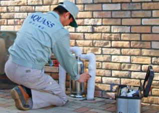 水道のプロによる安心施行