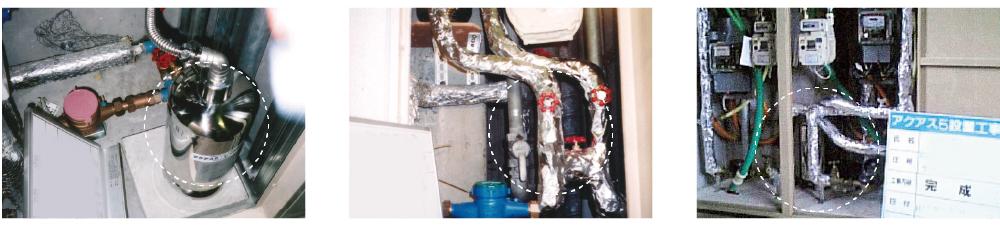 セントラル浄水器 マンション設置事例
