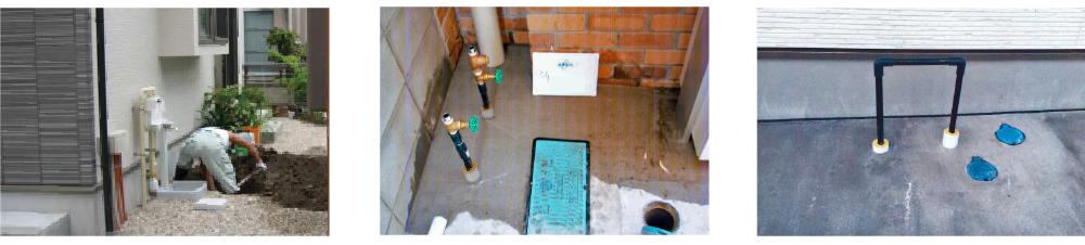 セントラル浄水器 新築 設置事例
