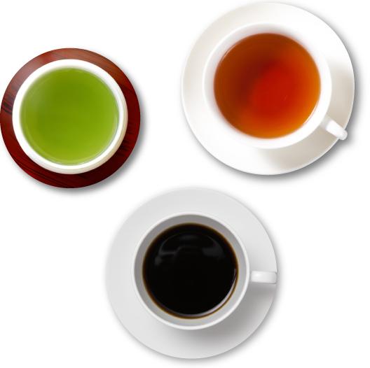 お茶やコーヒーも、風味と芳香が際立ちます