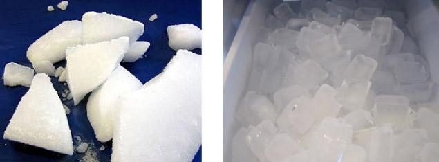 ドライアイスvs氷